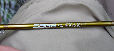 Sage TXL Fly Rod Review - TotalFlyFishing.com