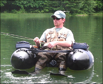 Float tube operation18 truckers social media network for Fly fishing float tube